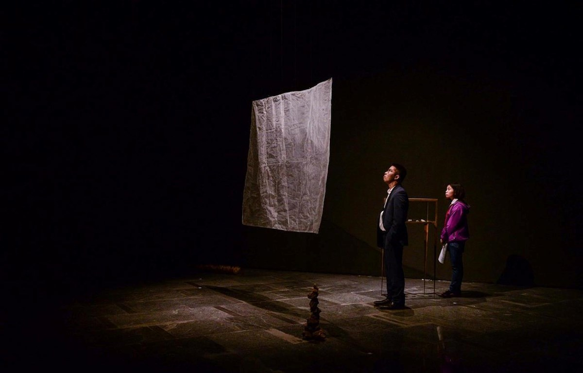 Triển lãm kéo dài đến hết ngày 12/4 tại Hà Nội. (Ảnh: Linh Trang/Vietnam+)