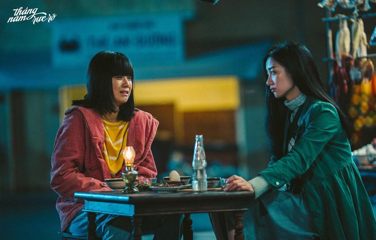 """""""Tháng năm rực rỡ"""" là một trong những bộ phim đình đám của điện ảnh Việt trong năm 2018. (Ảnh: ĐLP)"""