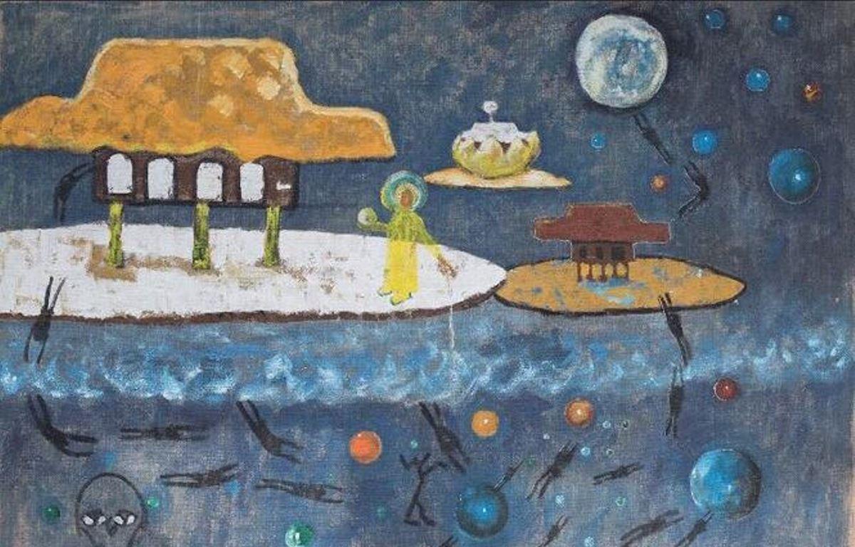 """Tác phẩm """"Ngôi nhà của chúng tôi"""" của nghệ sỹ Hoàng Khánh Dư. (Ảnh: BTC)"""