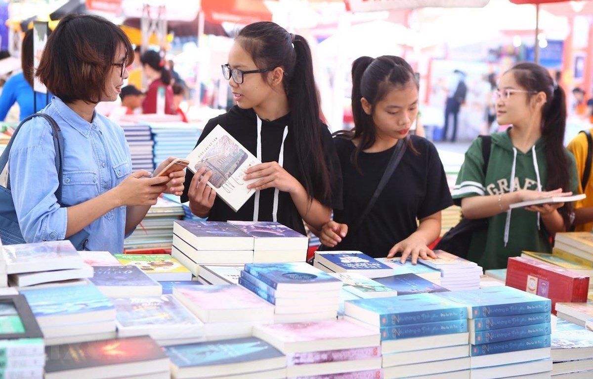Các hoạt động hưởng ứng Ngày Sách Việt Nam 2019 được tổ chức trên phạm vi cả nước. (Ảnh minh họa: TTXVN)