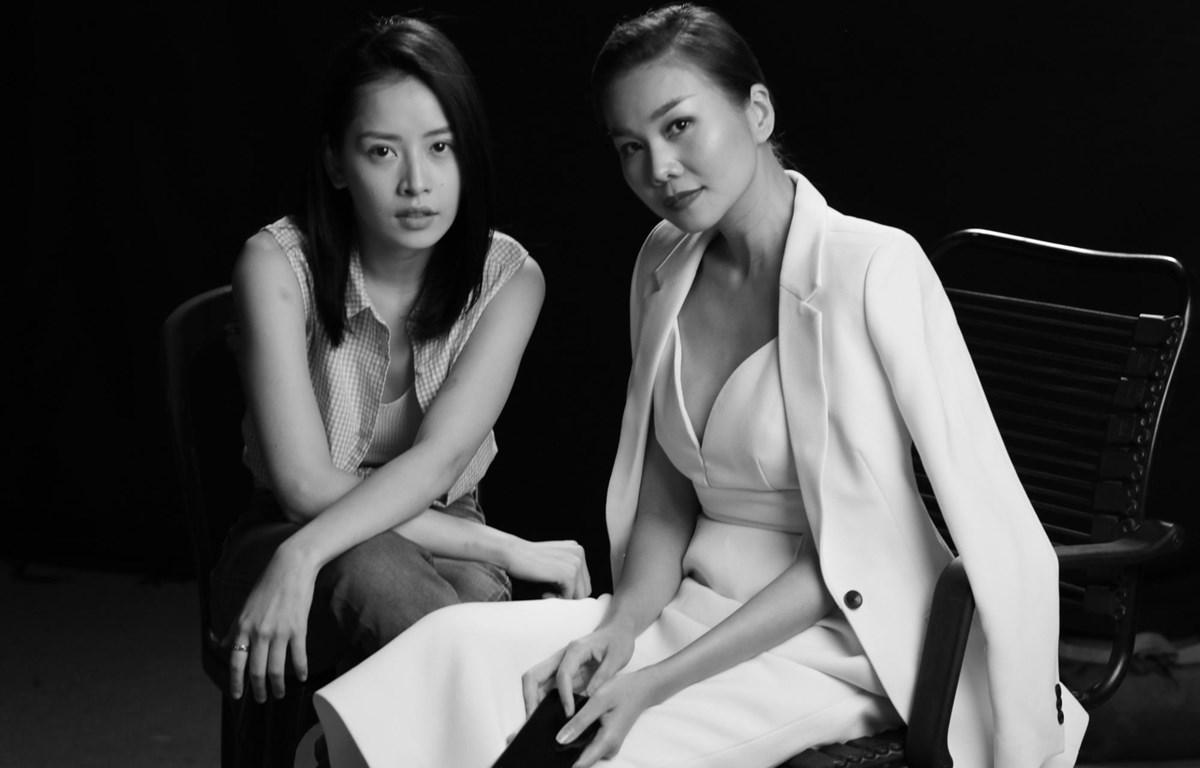 """Chi Pu và Thanh Hằng có cuộc đối đầu khốc liệt trong phim """"Chị chị em em""""  của đạo diễn Kathy Uyên. (Ảnh: Đoàn làm phim cung cấp)"""