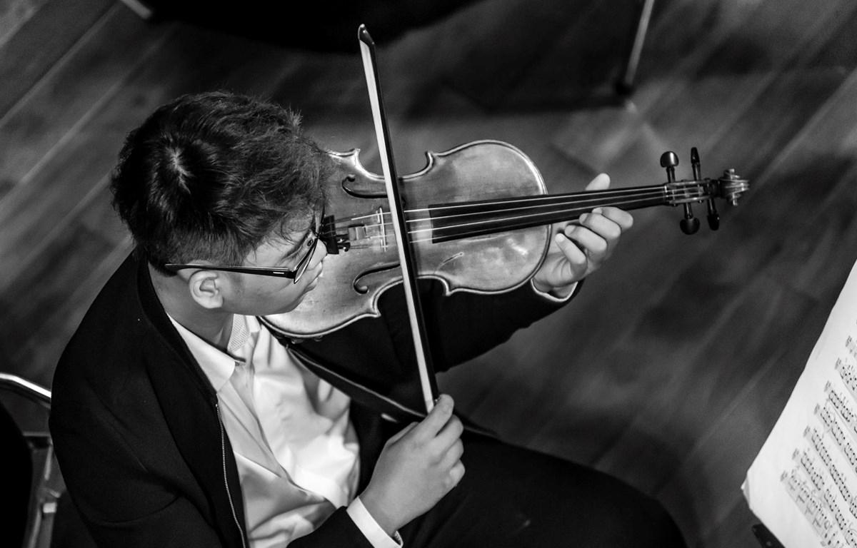"""Nghệ sỹ violin Lâm Hoài Bão sẽ cùng những nghệ sỹ trẻ khoác """"áo mới"""" cho những tình khúc quen thuộc. (Ảnh: BTC)"""