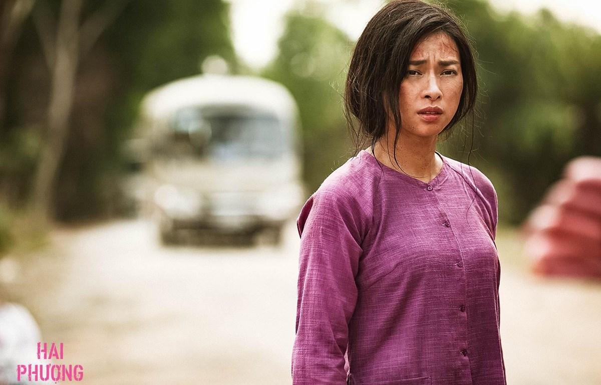 """Ngô Thanh Vân chia sẻ, """"Hai Phượng"""" sẽ là bộ phim cuối cùng chị tham gia diễn xuất với hình ảnh """"đả nữ."""" (Ảnh: Đoàn làm phim)"""