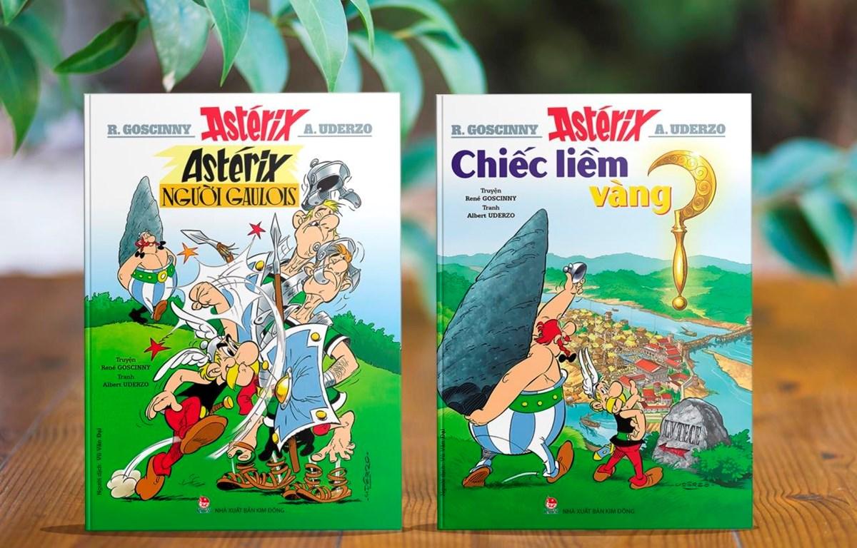 """Năm 2019, bộ truyện tranh nổi tiếng thế giới """"Những cuộc phiêu lưu của Astérix"""" tròn 60 tuổi. (Ảnh: Kim Đồng)"""