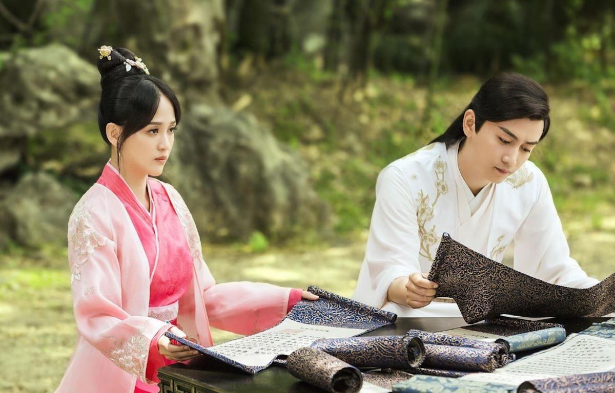 Phim là hành trình xây dựng, tạo lập triều đại nhà Tùy của hoàng đế Dương Kiên và hoàng hậu Độc Cô. (Ảnh: VTV0