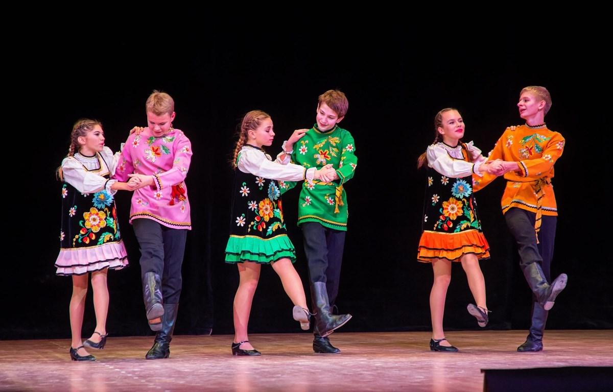 Đoàn thiếu nhi Nga sẽ mang tới liên hoan những vũ điệu truyền thống đặc sắc. (Ảnh: BTC)