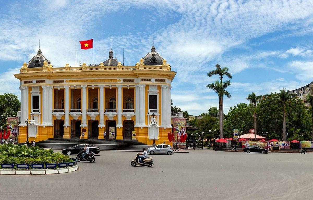"""Hà Nội là Thủ đô duy nhất tại khu vực châu Á-Thái Bình Dương được UNESCO vinh danh """"Thành phố vì hòa bình."""" (Ảnh minh họa: Vietnam+)"""