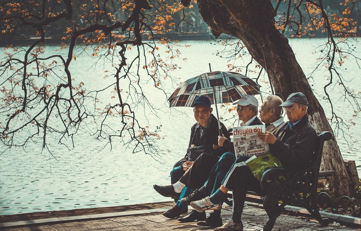 Khung cảnh yên bình, tĩnh lặng của Hà Nội - đất kinh kỳ nghìn năm văn hiến. (Ảnh minh họa: Vietnam+)