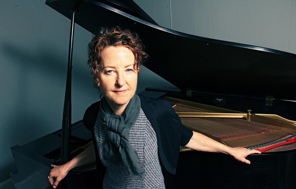 Nghệ sỹ dương cầm Myra Melford. (Ảnh:BTC)