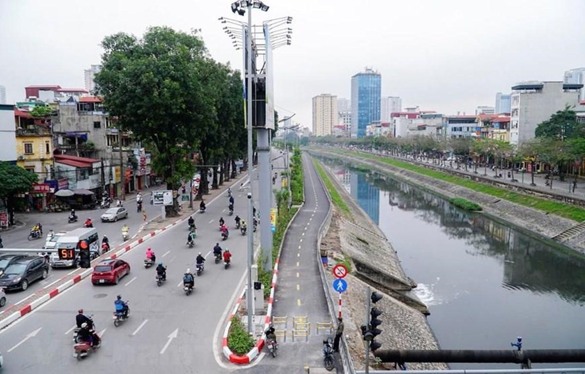 """Quyết tâm """"hồi sinh"""" sông Tô Lịch được đề cử giải """"Ý tưởng-Vì tình yêu Hà Nội."""" (Ảnh: Vietnam+)"""
