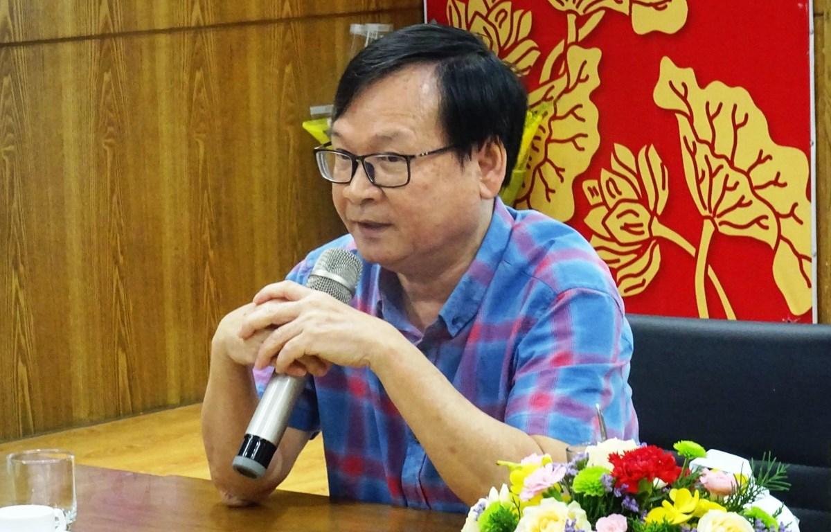 Nhà văn Nguyễn Nhật Ánh. (Ảnh: TTXVN)