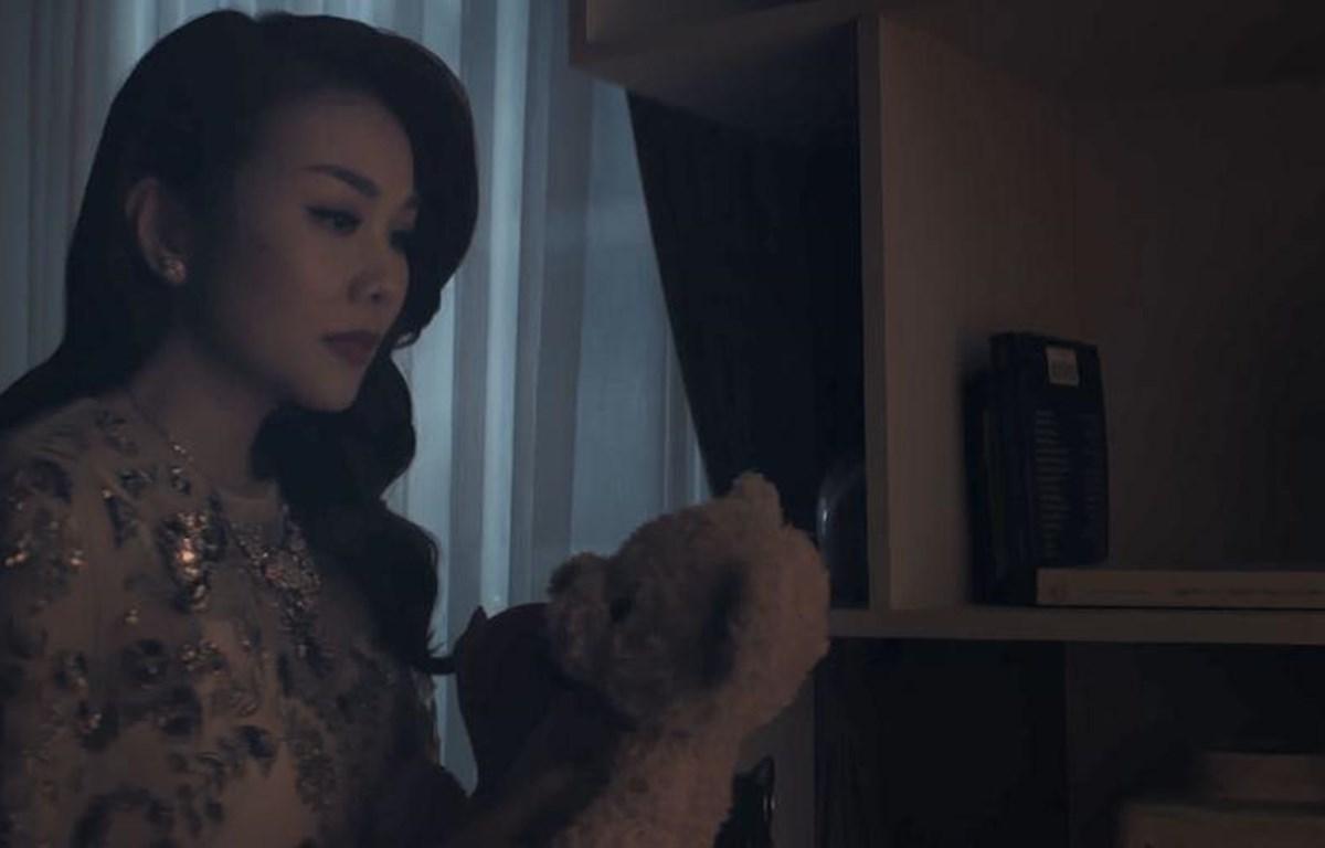 """Tạo hình của Thanh Hằng trong """"Chị chị em em."""" (Ảnh: CJ)"""