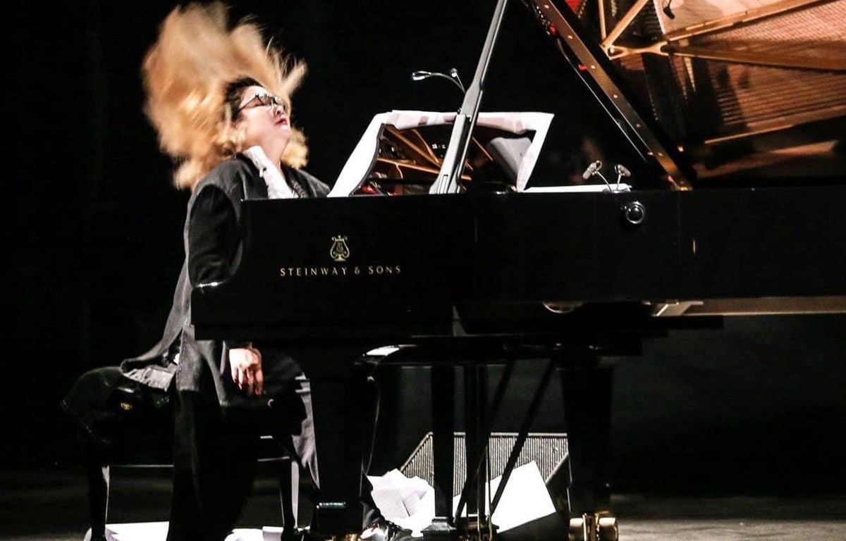 """Giới mộ điệu vẫn ví tiếng đàn của Phó An My là """"tiếng dương cầm bão tố."""" (Ảnh: Nghệ sỹ cung cấp)"""