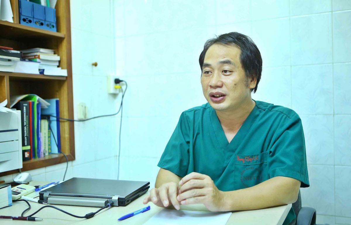 Bác sỹ Nguyễn Trung Cấp là một trong những diễn giả của chương trình. (Ảnh: BTC)