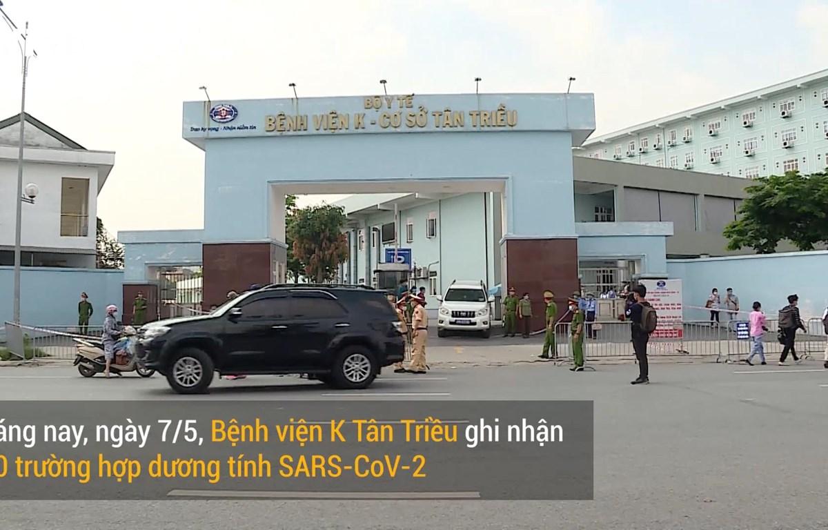 Bệnh viện K cơ sở Tân Triều (Ảnh: Hoàng Đạt/Vietnam+)