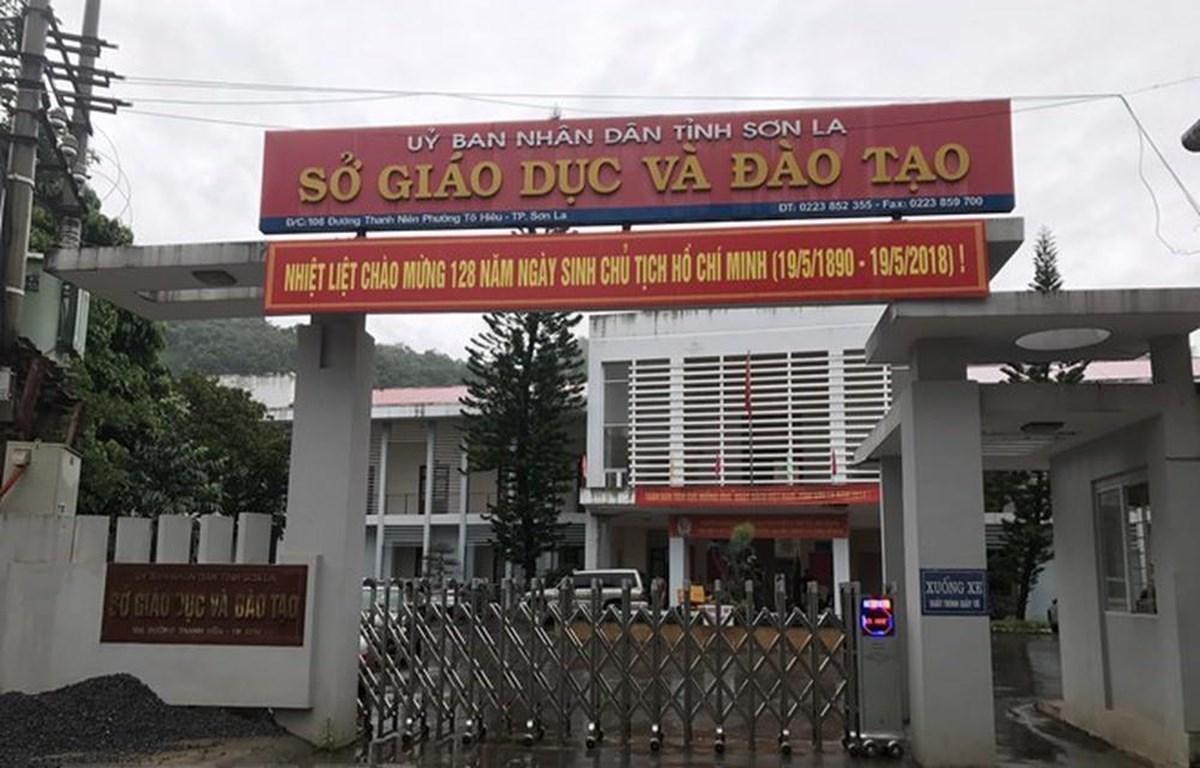 Sở Giáo dục và Đào tạo tỉnh Sơn La. (Ảnh: TTXVN)