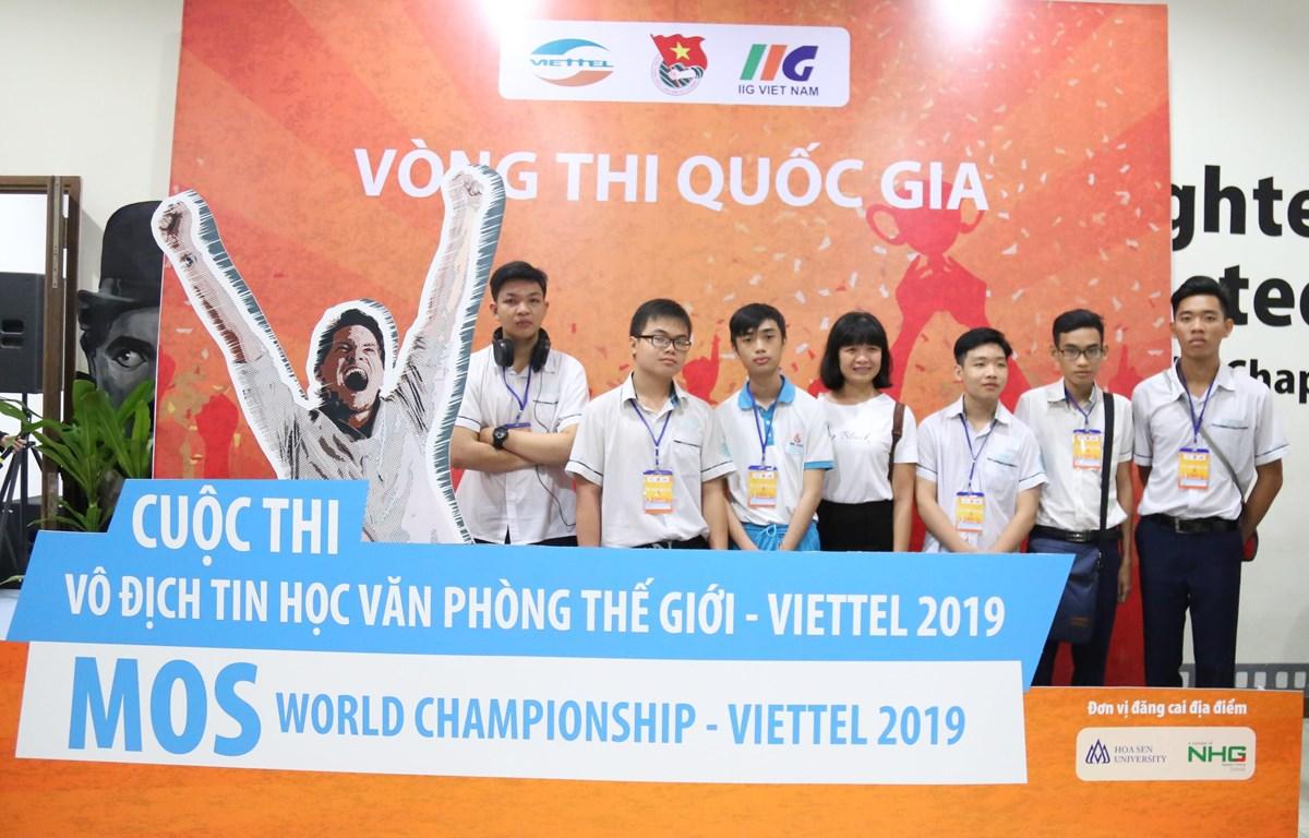 Cuộc thi Vô địch tin học văn phòng thế giới-Viettel 2019 đã chính thức được khai mạc sáng nay, ngày 24/3. (Ảnh: PV/Vietnam+)