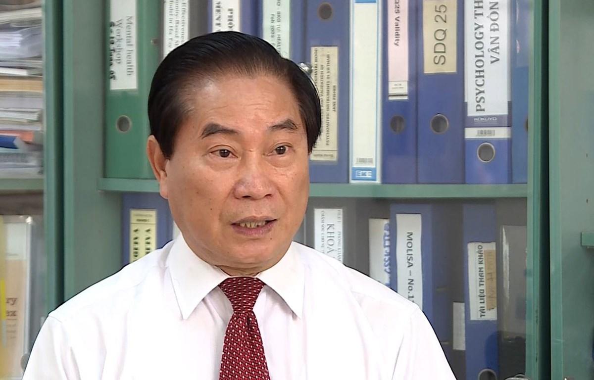 Ông Nguyễn Trọng An chia sẻ với báo chí. (Ảnh: PM/Vietnam+)
