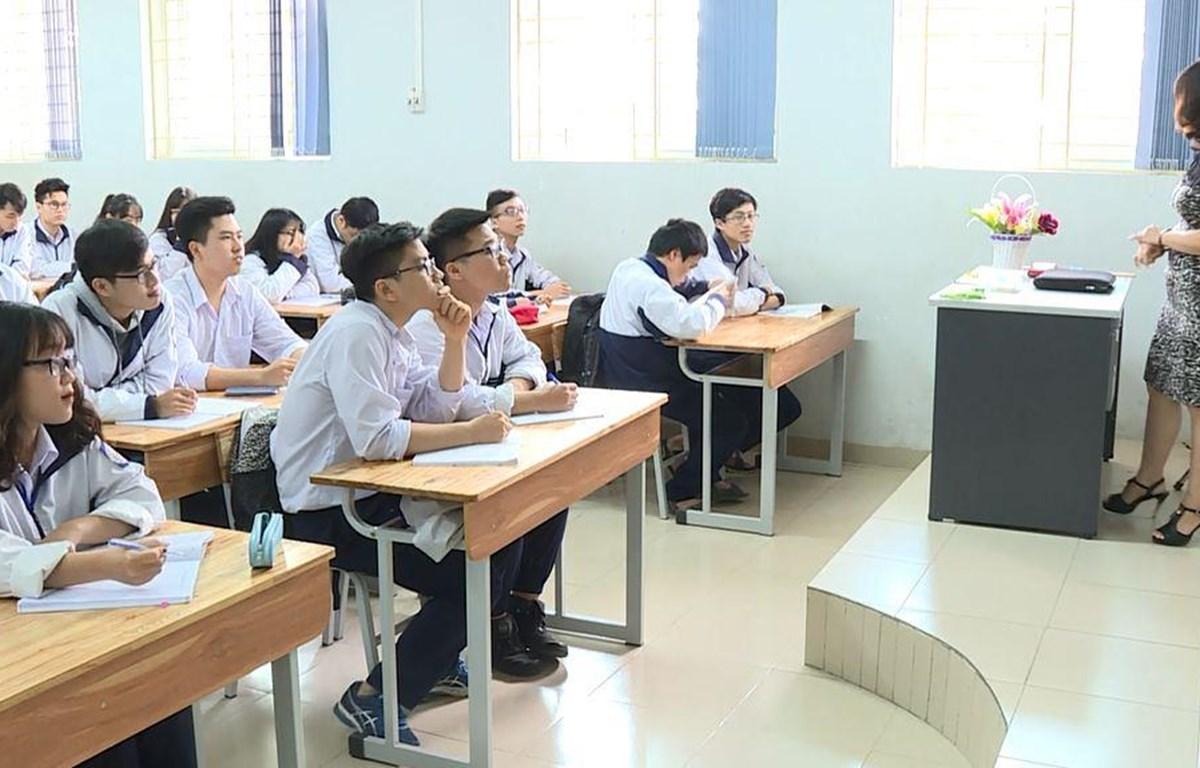 Bộ Giáo dục và Đào tạo đang xây dựng và lập kế hoạch phát triển giáo dục Việt Nam. (Ảnh: PM/Vietnam+)