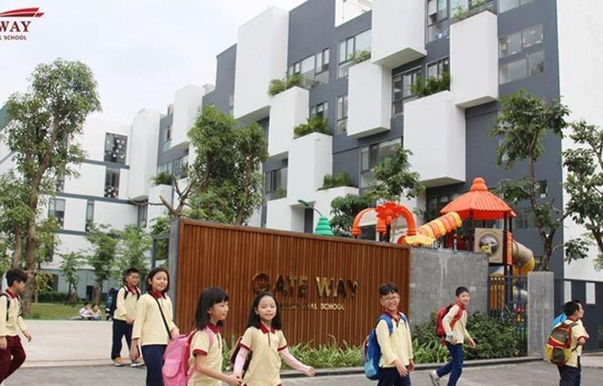 Trường phổ thông liên cấp Gateway, Cầu Giấy, Hà Nội. (Ảnh: gateway.edu)