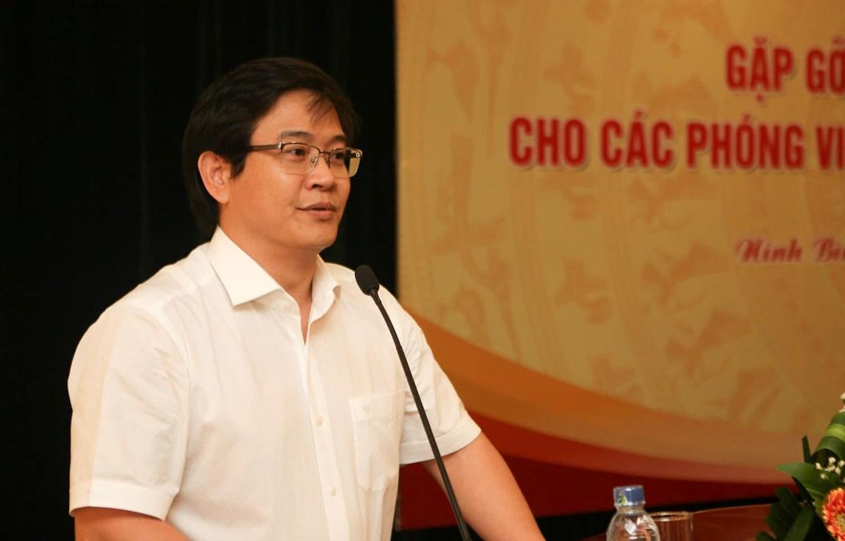Ông Thái Văn Tài, quyền Vụ trưởng Vụ Giáo dục Tiểu học, Bộ Giáo dục và Đào tạo. (Ảnh: Thanh Tùng/Vietnam+)