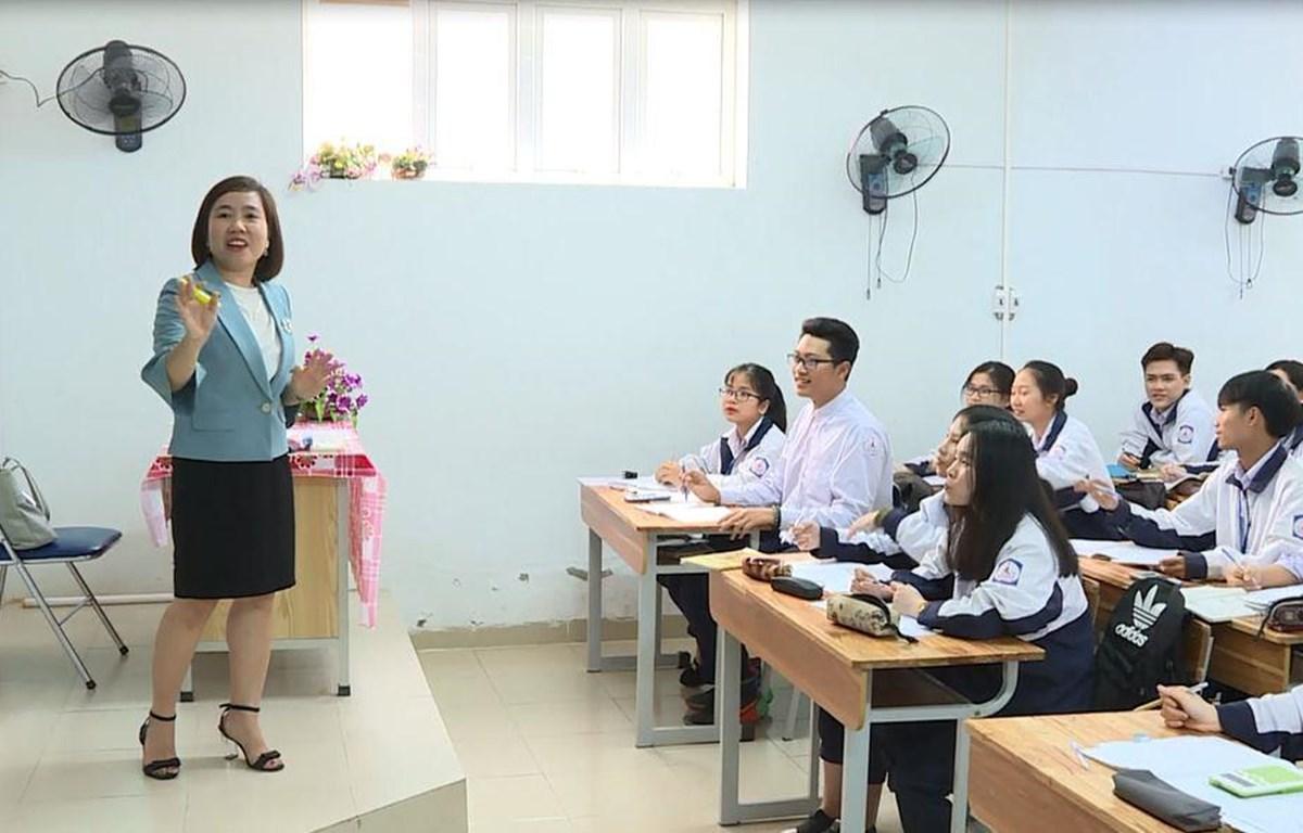 Quy định đánh giá học sinh mới sẽ được áp dụng từ ngày 10/11. (Ảnh: PM/Vietnam+)