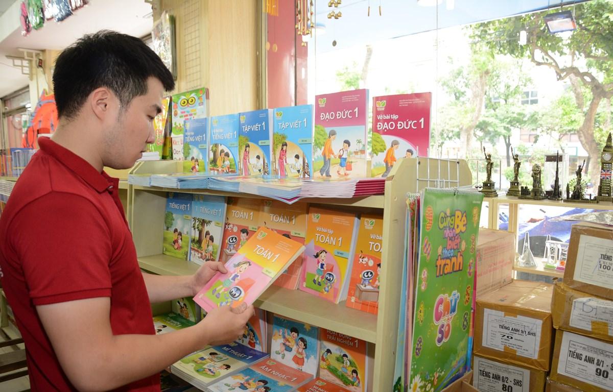 Sách giáo khoa lớp 1 là bộ sách đầu tiên của chương trình giáo dục phổ thông mới. (Ảnh: PV)
