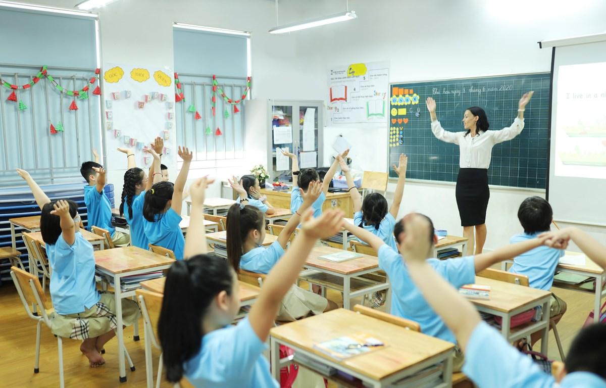 Tinh thần phản biện, sự độc lập, tự tin trước giáo viên đang là điểm yếu của giáo dục Việt Nam. (Ảnh: PV/Vietnam+)