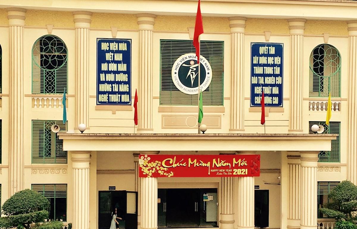 Học viện Múa Việt Nam. (Ảnh: PV/Vietnam+)