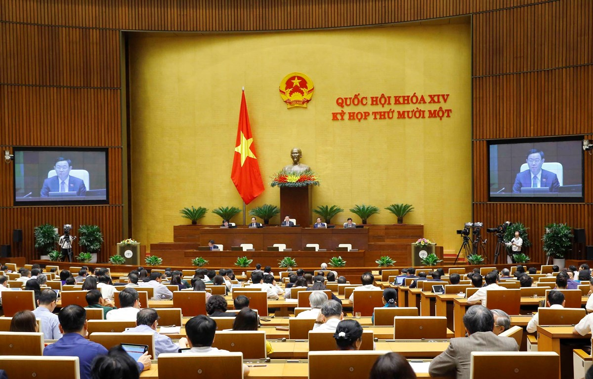 Các đại biểu họp Quốc hội. (Ảnh: Doãn Tấn/TTXVN)