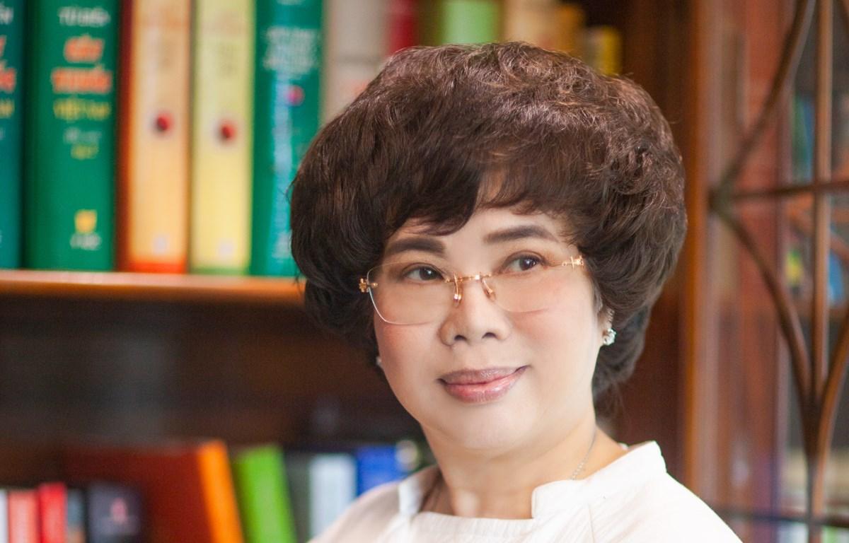 Bà Thái Hương – nhà sáng lập, Chủ tịch Hội đồng Chiến lược Tập đoàn TH. (Ảnh: PV)