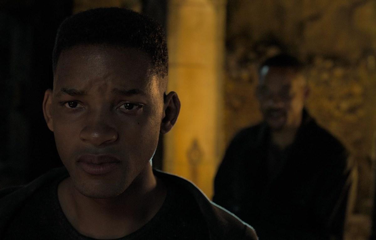Nhân vật bản sao của Will Smith được nhào nặn bằng công nghệ ký thuật số. (Nguồn: Skydance)