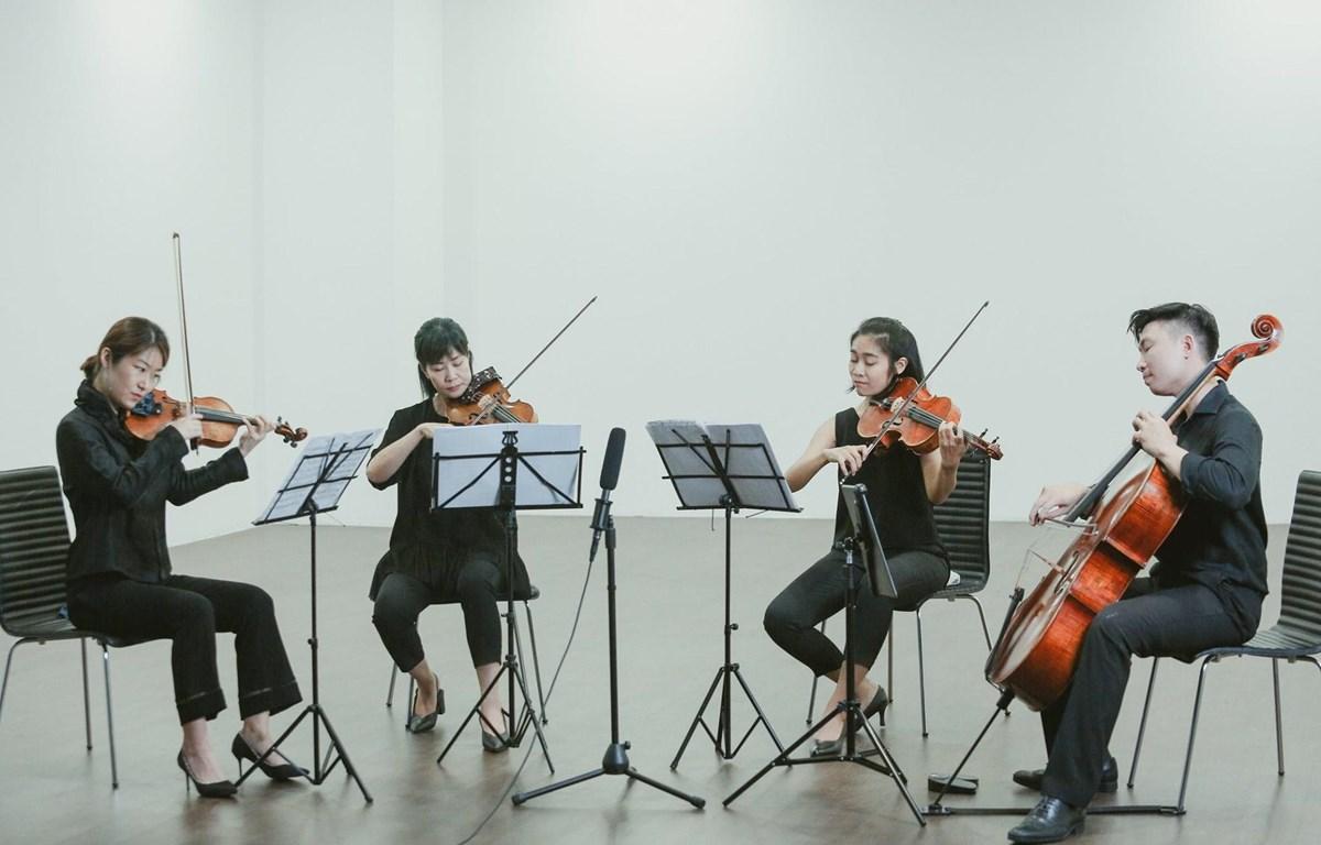 Tứ tấu dây Glanz String Quartet sẽ có buổi biểu diễn miễn phí tại Trung tâm Giao lưu Văn hóa Nhật Bản. (Ảnh: BTC)