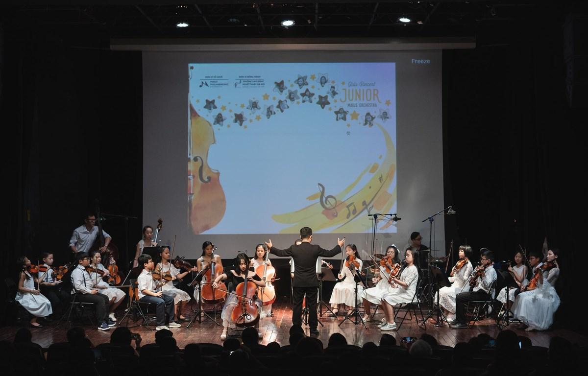 Junior Maius Orchestra là dàn nhạc nhí đầu tiên của Việt Nam. (Ảnh: BTC)