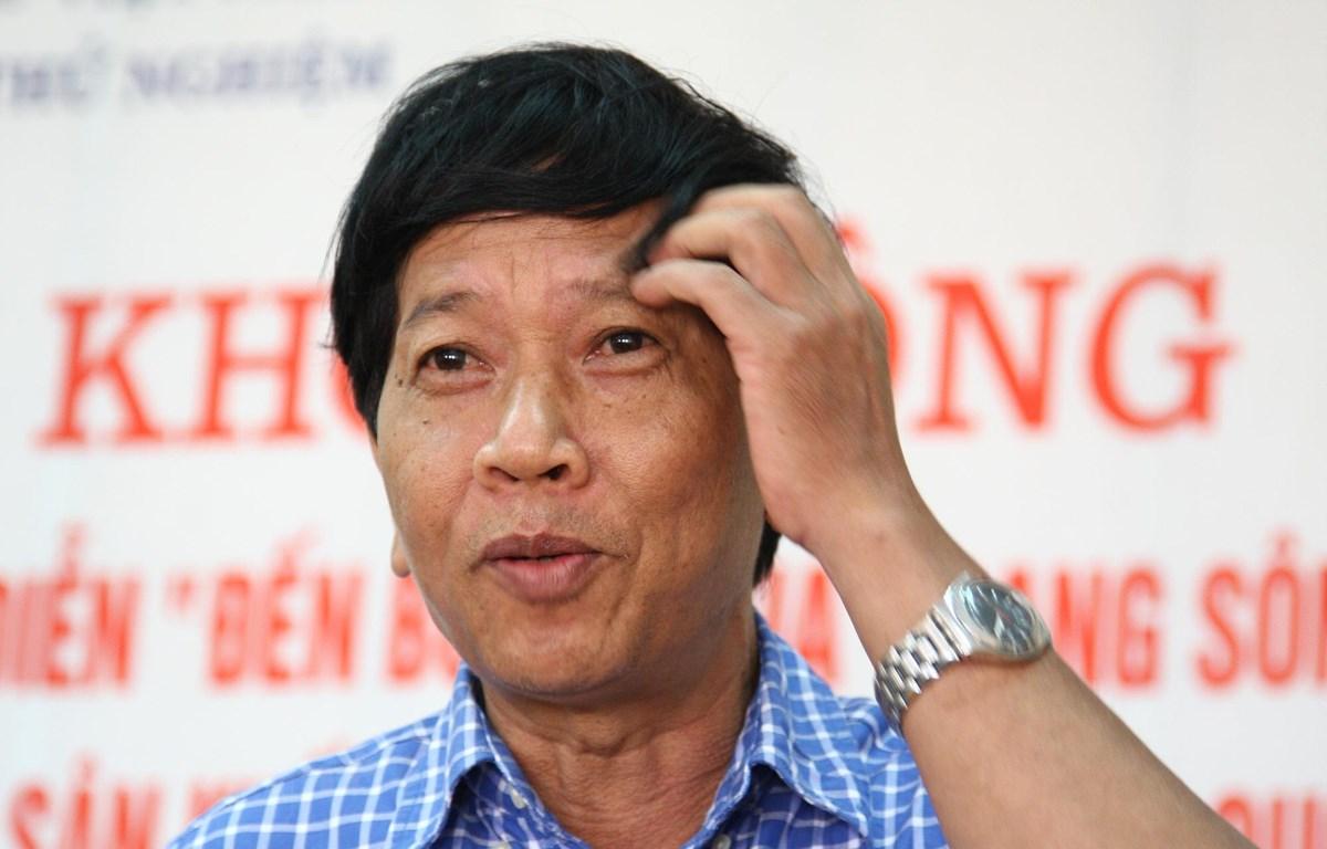 Nhà văn Nguyễn Huy Thiệp là một tác giả được trân trọng bởi sự nhân văn và quyết liệt trong tác phẩm. (Ảnh: Nguyễn Đình Toán/Vietnam+)
