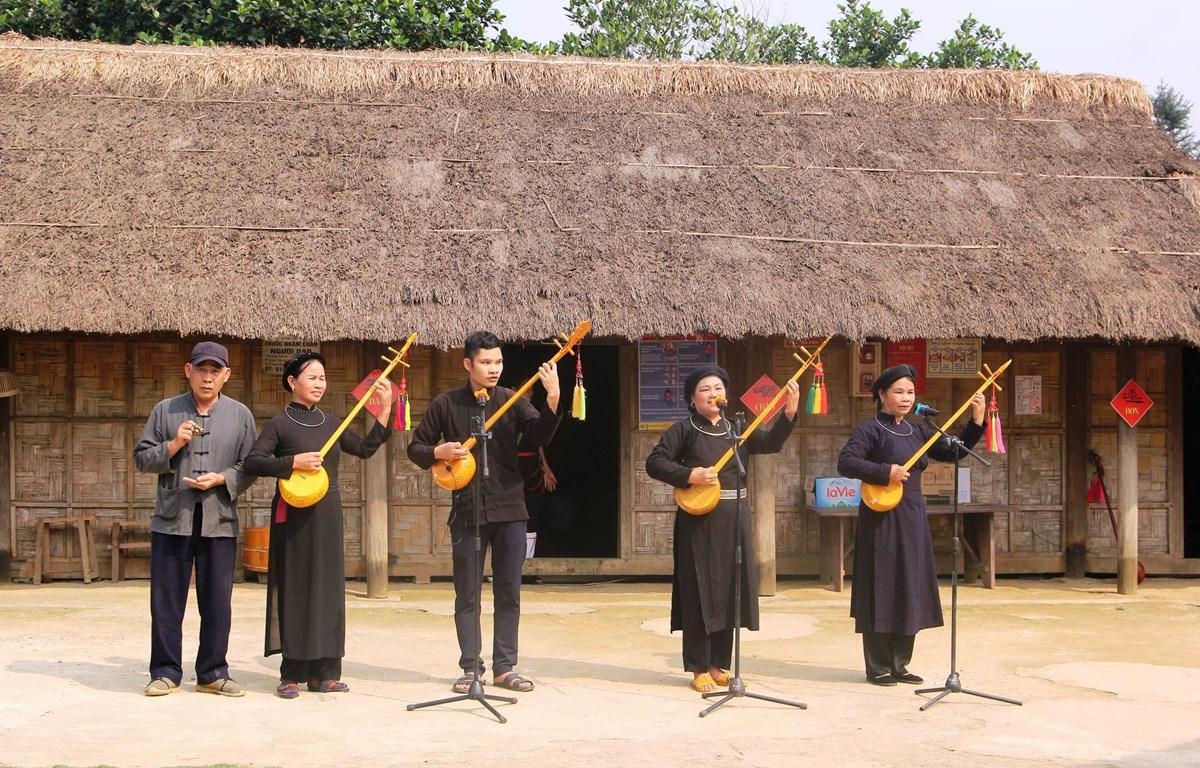 Ban tổ chức sẽ giới thiệu, trình diễn các loại hình di sản văn hóa phi vật thể đại diện của nhân loại theo vùng miền. (Ảnh: PV/Vietnam+)