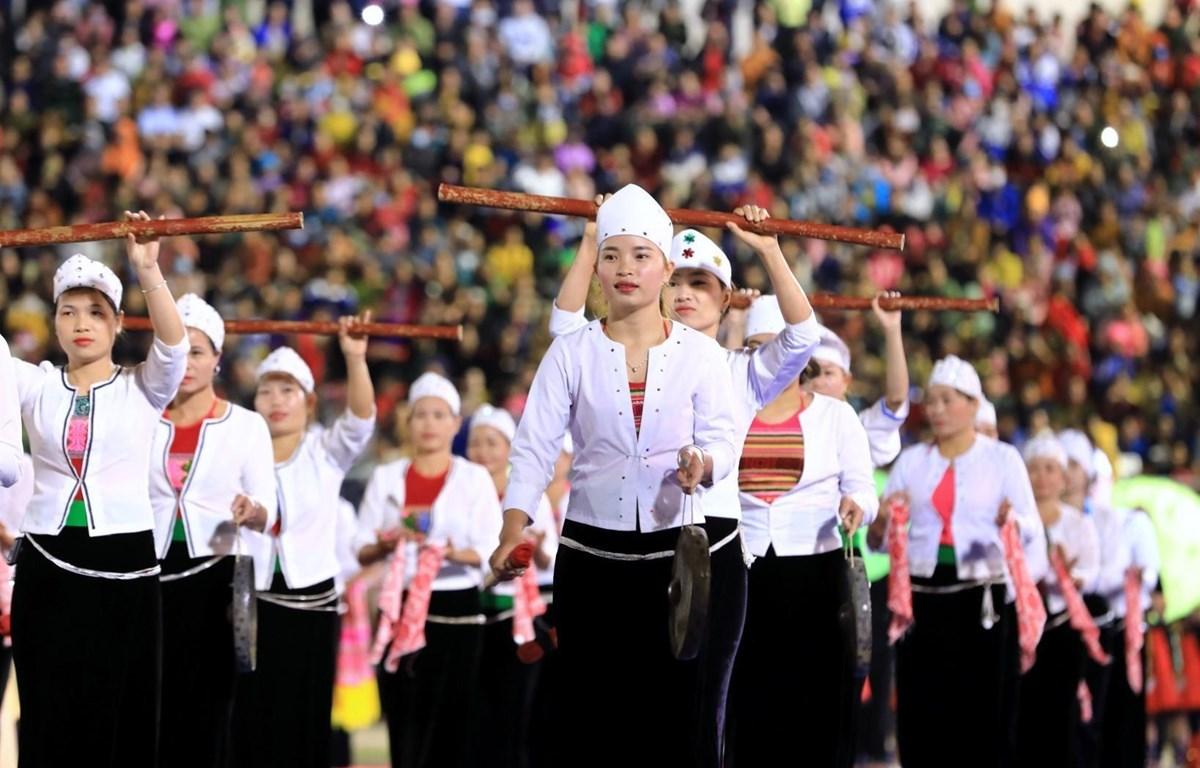 Lễ hội Văn hóa, Du lịch Mường Lò năm 2020. (Ảnh: Thành Đạt/TTXVN)
