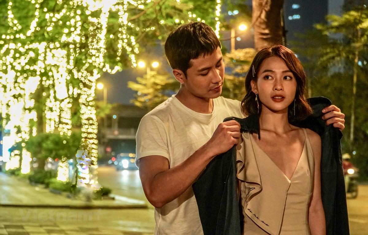 Lần đầu tiên Thanh Sơn và Khả Ngân đóng cặp trong một bộ phim truyền hình. (Ảnh: VFC)