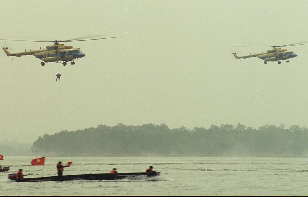 Bộ phim tài liệu tái hiện những cuộc chiến giành độc lập, tự do của dân tộc Việt Nam. (Ảnh: ĐAQĐND).