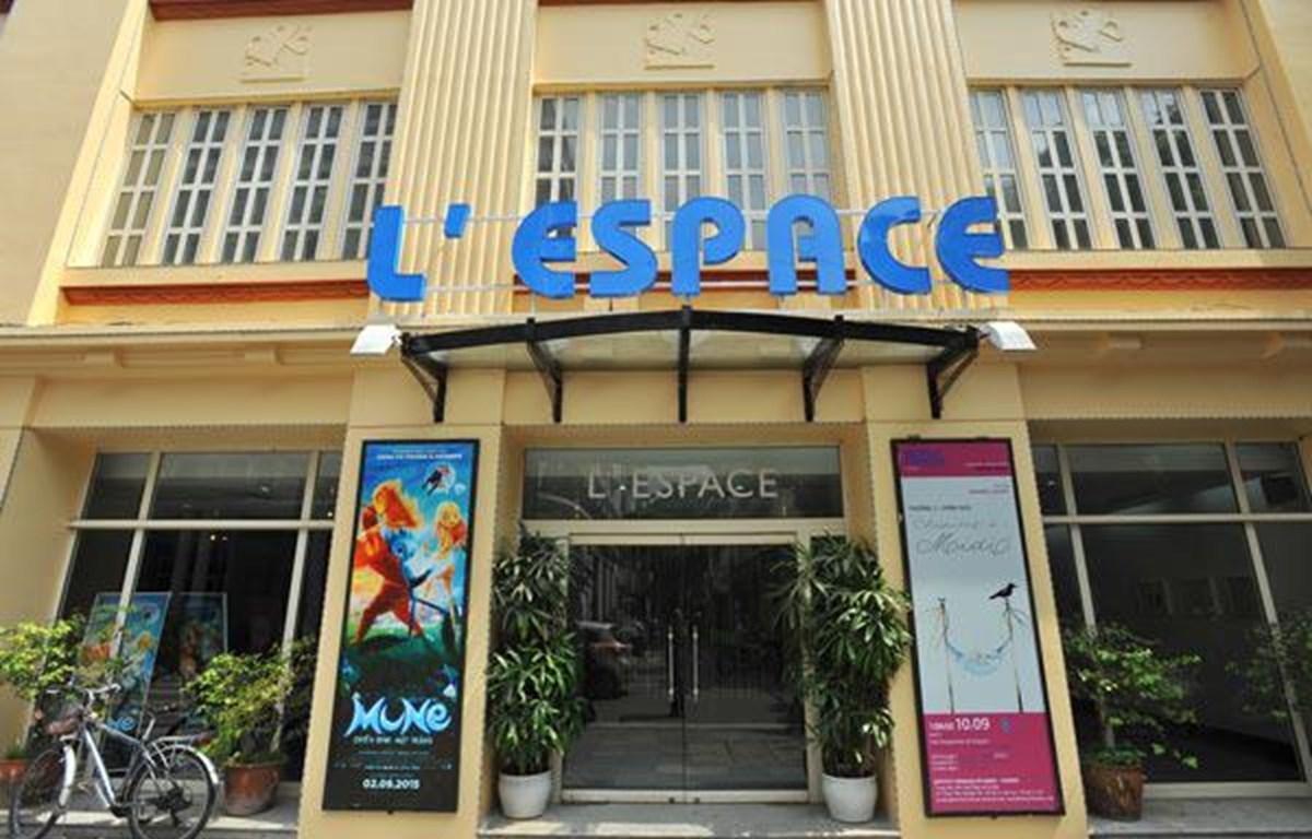 L'Espace là một không gian văn hóa được cải tạo từ nhà in của báo Nhân Dân ngày xưa. (Ảnh: Viện Pháp tại Hà Nội)