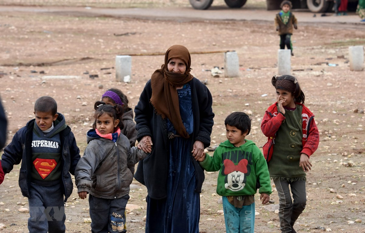 Người dân Syria. (Nguồn: THX/TTXVN)