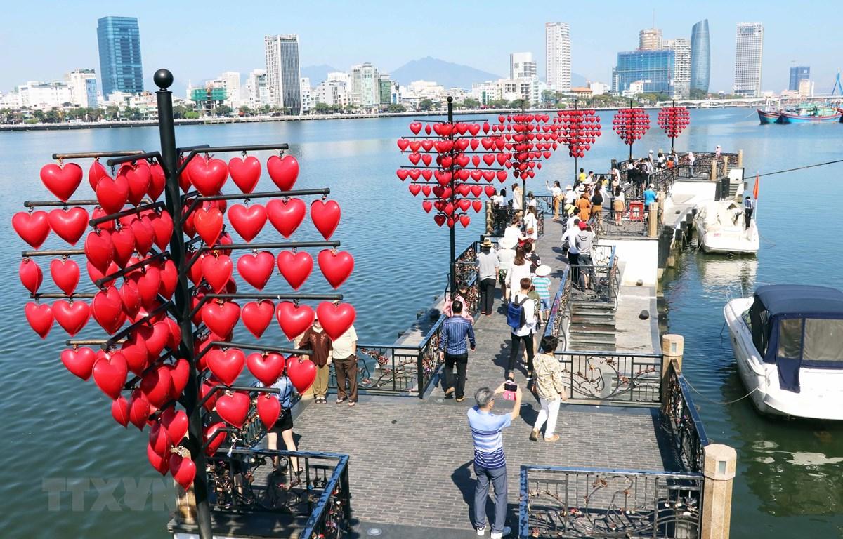Đà Nẵng - Điểm du lịch ưa thích hàng đầu của các gia đình Hàn Quốc. (Ảnh: Trần Lê Lâm/TTXVN)