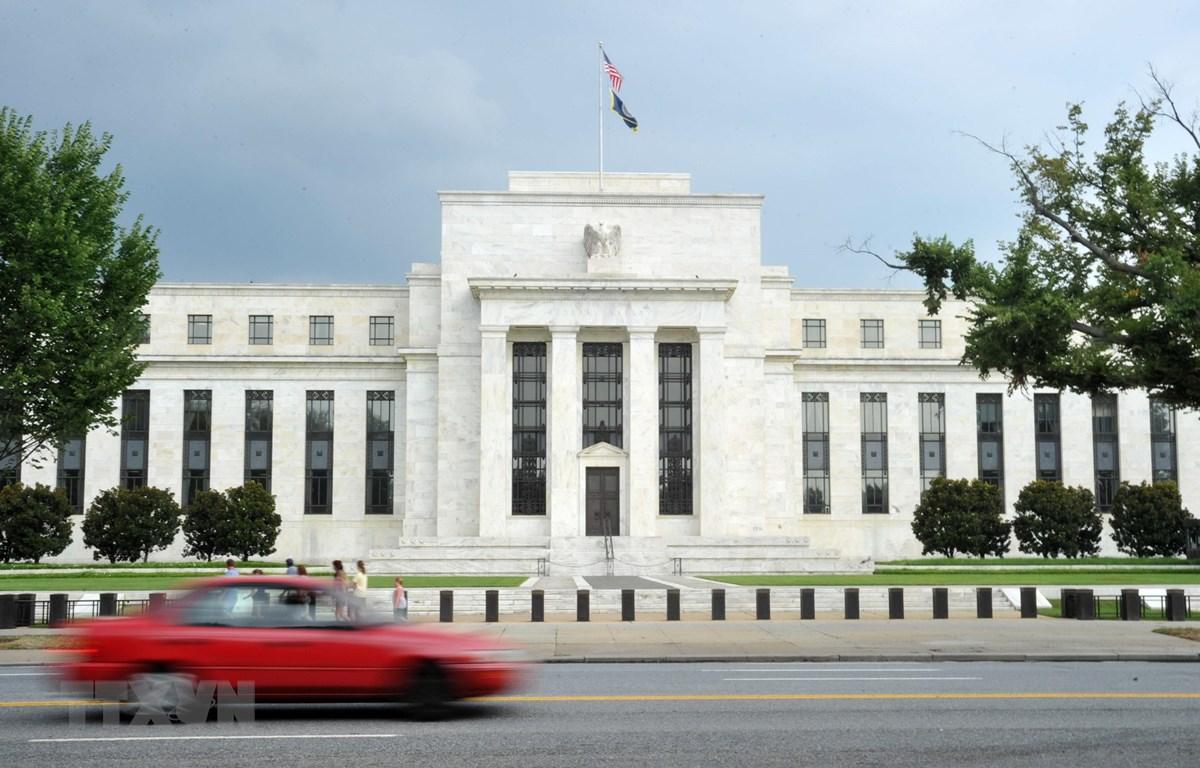 Trụ sở Cục dự trữ Liên bang Mỹ ở Washington, DC. (Nguồn: AFP/TTXVN)