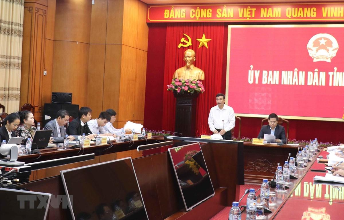 Quang cảnh buổi họp. (Ảnh: Nguyễn Công Hải/TTXVN)