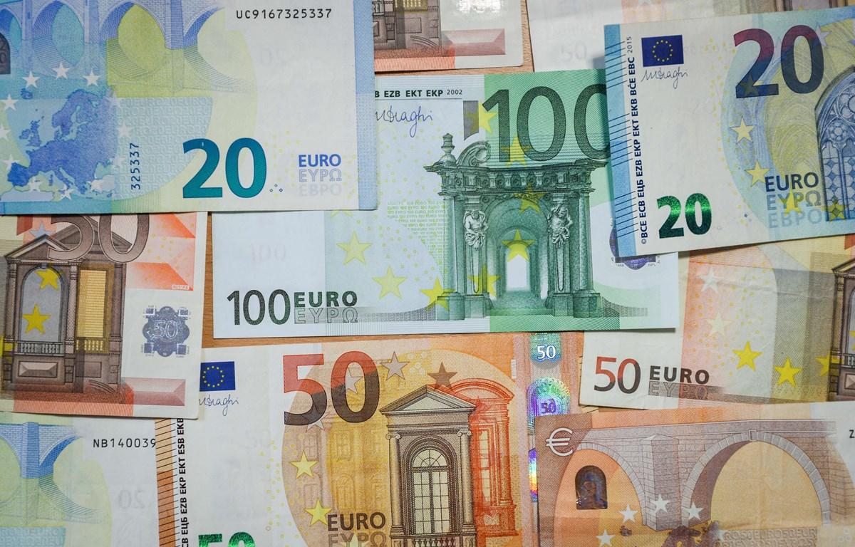 Đồng euro. (Nguồn: THX/TTXVN)