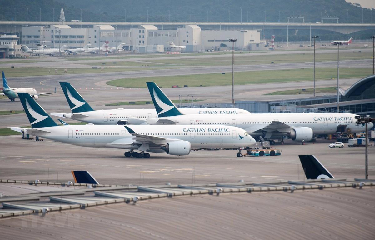 Máy bay của Cathay Pacific. (Nguồn: AFP/TTXVN)