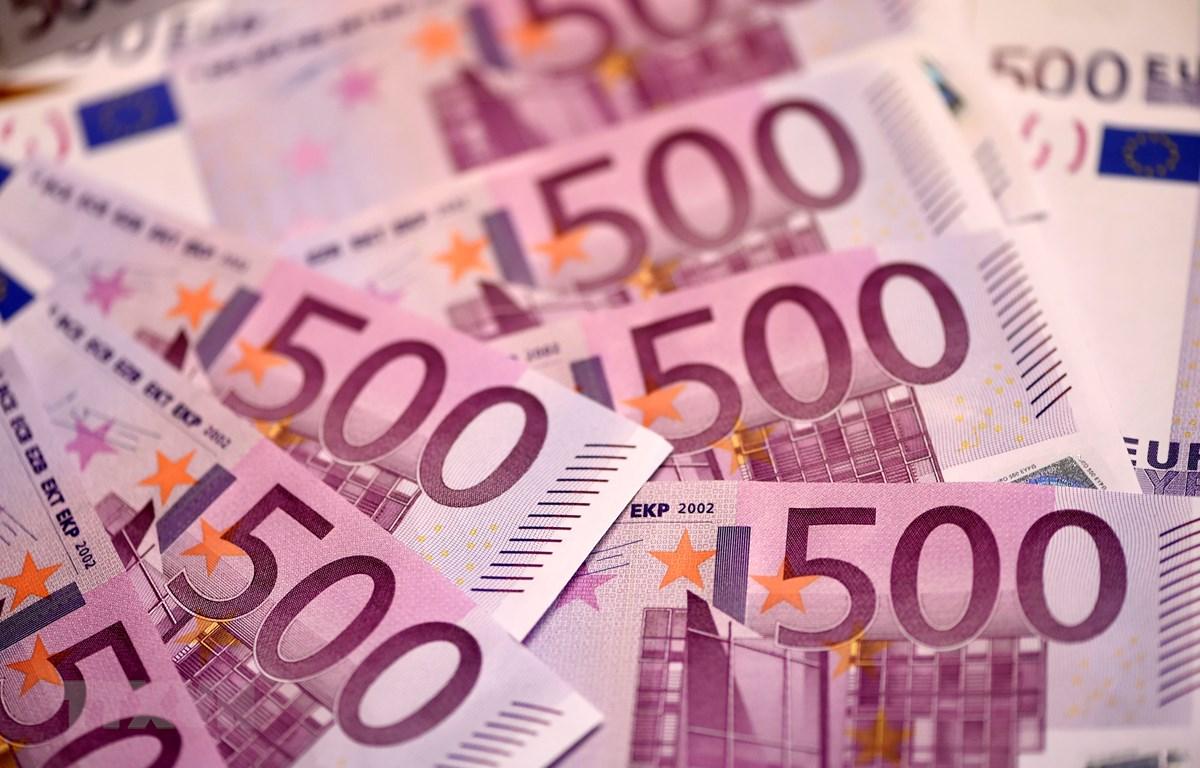 Đồng 500 euro. (Nguồn: AFP/TTXVN)