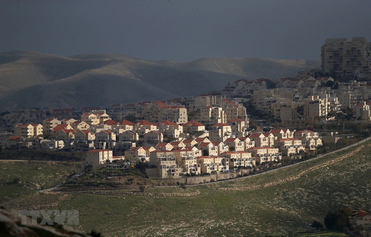 Khu định cư Maale Adumim của Israel ở Bờ Tây ngày 25/2/2020. (Nguồn: AFP/TTXVN)