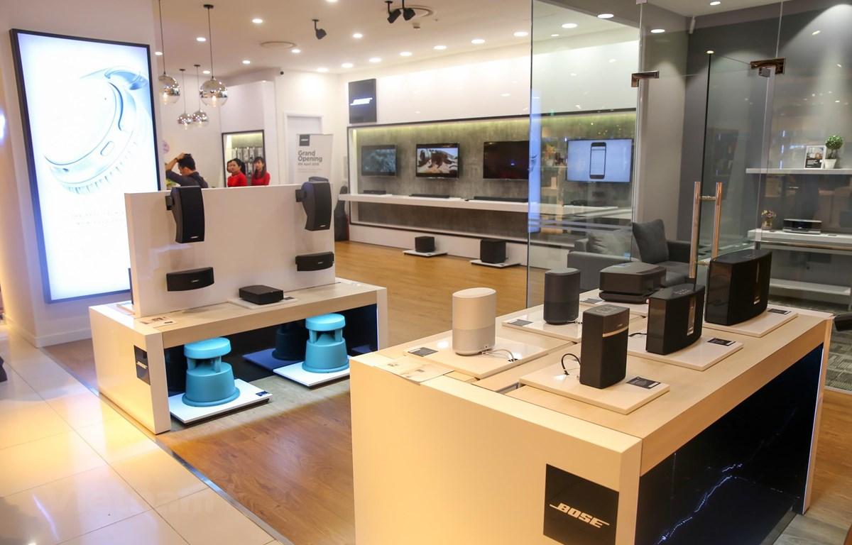 Bose Store được đặt tại tầng 5 Trung tâm thương mại Lotte Hà Nội. (Ảnh: Minh Sơn/Vietnam+)