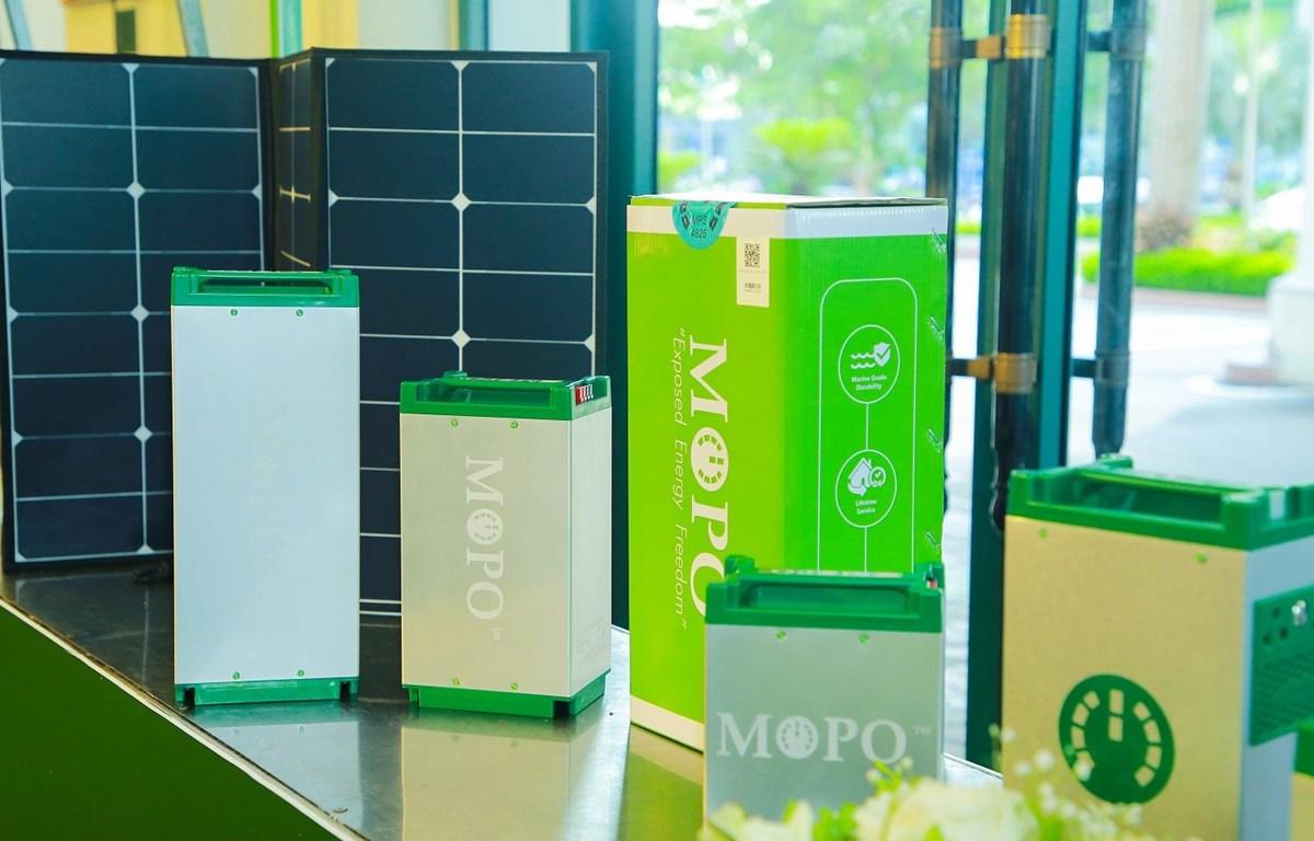 Dự án pin thông minh Mopo sẽ được Shark Hưng đầu tư sau 'thương vụ bạc tỷ mua' lại 25% cổ phần công ty PowerCentric hồi năm 2018. (Ảnh: PV/Vietnam+)